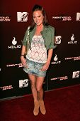 Wrenna Monet at the Party Launching the new MTV series