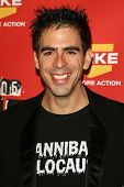 Eli Roth at Spike TV's 2006 Video Game Awards. The Galen Center, Los Angeles, California. December 8, 2006.