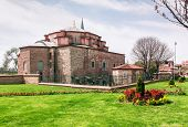 picture of constantinople  - Little Hagia Sophia is a former Eastern Orthodox church dedicated to Saints Sergius and Bacchus in Constantinople converted into a mosque during the Ottoman Empire - JPG