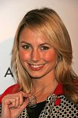 HOLLYWOOD - DECEMBER 11: Stacy Keibler at the Nefarious Fine Jewelry Spring 2007 Collection and Holi