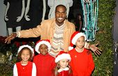Kanye West Holiday Window Lighting to benefit the Kanye West Foundation Loop Dreams Program, Stella