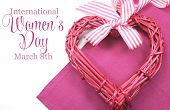 stock photo of special day  - Happy International Women - JPG