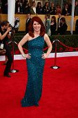 Kate Flannery at the 19th Annual Screen Actors Guild Awards Arrivals, Shrine Auditorium, Los Angeles