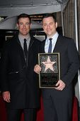 Carson Daly, Jimmy Kimmel at Jimmy Kimmel's induction into the Hollywood Walk of Fame, Hollywood, CA