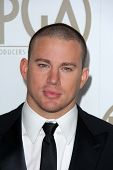 Channing Tatum at the 24th Annual Producers Guild Awards, Beverly Hilton, Beverly Hills, CA 01-26-13