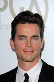 Matt Bomer at the 24th Annual Producers Guild Awards, Beverly Hilton, Beverly Hills, CA 01-26-13