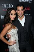Jesse Metcalfe and Cara Santana at the Entertainment Weekly Pre-SAG Party, Chateau Marmont, West Hol