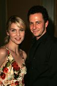 PASADENA - JULY 22: Rhea Seehorn and Jarrad Paul at the NBC TCA Press Tour at Ritz Carlton Huntington Hotel on July 22, 2006 in Pasadena, CA.