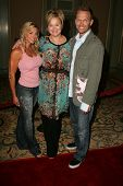 PASADENA - JULY 22: Kim Lyons, Caroline Rhea and Bob Harper at the NBC TCA Press Tour at Ritz Carlton Huntington Hotel on July 22, 2006 in Pasadena, CA.
