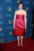 Lena Dunham at the 65th Annual Directors Guild Of America Awards Arrivals, Dolby Theater, Hollywood, CA 02-02-13