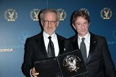 Steven Spielberg, Martin Short at the 65th Annual Directors Guild Of America Awards Press Room, Dolb
