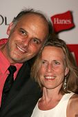 HOLLYWOOD - AUGUST 27: Kurt Fuller and Jessica Hendra at the TV Guide Emmy After Party August 27, 20