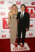 HOLLYWOOD - AUGUST 27: Kelly Limp and Scott Wolf at the TV Guide Emmy After Party August 27, 2006 in