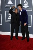 Quincy Jones, John Mayer at the 55th Annual GRAMMY Awards, Staples Center, Los Angeles, CA 02-10-13