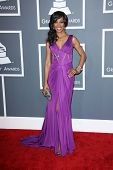 Shaun Robinson at the 55th Annual GRAMMY Awards, Staples Center, Los Angeles, CA 02-10-13