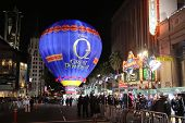 Hot air balloon at the