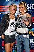 HOLLYWOOD - JULY 11: Oksana Baiul and Blu Cantrell at ESPN The Magazine's