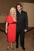 BEVERLY HILLS - NOVEMBER 03: Tori Spelling and Dean McDermott at the