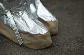 Special Footwear Against Fire