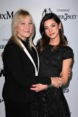 Gia Mantegna and mother at the Sixth Annual Women In Film Pre-Oscar Coctail Party, Fig & Olive, Los Angeles, CA 02-22-12