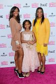 Quvenzhane Wallis and family at the 2013 Film Independent Spirit Awards, Private Location, Santa Mon