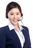 Customer service worker