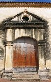 stock photo of senora  - Door of the Cathedral Nuestra Senora de la Asuncion - JPG