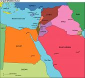 Israel and Middle East Countries, Names