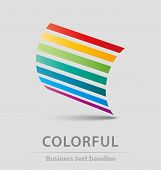 Colorful Business Icon