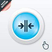 Close the door sign icon. Control in the elevator