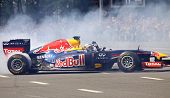 Driver Daniel Ricciardo Of Red Bull Racing Team