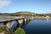 Bridge Over The Burguillo Reservoir, Spain