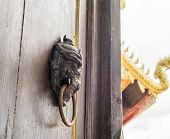 Temple Door Open To See Golden Temple