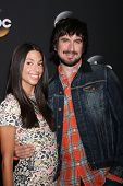 LOS ANGELES - JUL 15:  Jade Catta-Preta, Nicolas Wright at the ABC July 2014 TCA at Beverly Hilton o