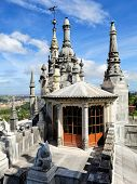 On The Top Of Main House Of Quinta Da Regaleira, Portugal
