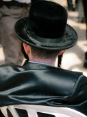 Hassidic Jew at the Western Wall Jerusalem
