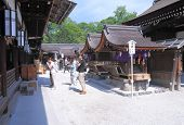 Shimogamo Shrine Kyoto Japan
