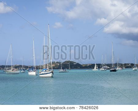 View of Simpson Bay and