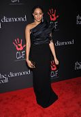 LOS ANGELES - DEC 11:  Tia Mowry arrives to the The First Annual Diamond Ball on December 11, 2014 in Beverly Hills, CA