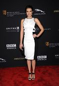 LOS ANGELES - OCT 30:  Lauren Cohan arrives to the BAFTA Jaguar Brittannia Awards 2014 on October 30, 2014 in Beverly Hills, CA