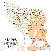 Happy Mother's Day Card With Flowers [converted].eps