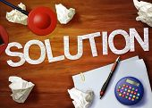 Solution Desktop Memo Calculator Office Think Organize