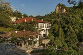 Part of Melnik town