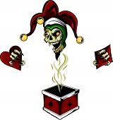 Poker Box Joker Zombie