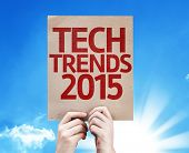 Tech Trends 2015 card with a beautiful day
