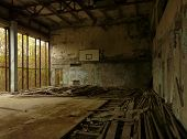 Sports Hall in Pripyat