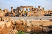 Zvartnots Cathedral In Echmiadzin