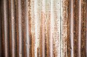 Old Metal Sheet Wall