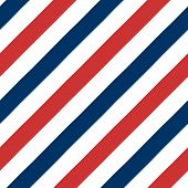 stock photo of barber  - Barber Pole seamless pattern  - JPG