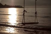 Swing on the beach